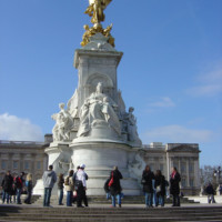 Photo of the Victoria Memorial in London