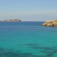 Bay of Cala Tarida Ibiza