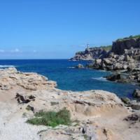 Lighthouse on the northern coast of Ibiza